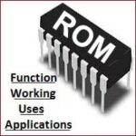 Functions, Working, Uses, Applications of ROM (Read Only Memory)