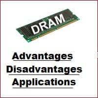 advantages and disadvantages of dram