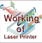 Working of Laser Printer with Diagram | Laser Printing Process and Components