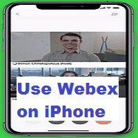 How to Use Webex Meetings on iPhone