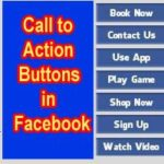 Add Call to Action Buttons on Facebook Page | Post | Ads