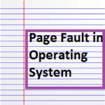 Page Fault in OS (Operating System), What is Page Fault Handling